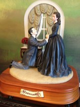 San Francisco Music Box Co - Rhett & Scarlett The Proposal Gone With the... - $200.00