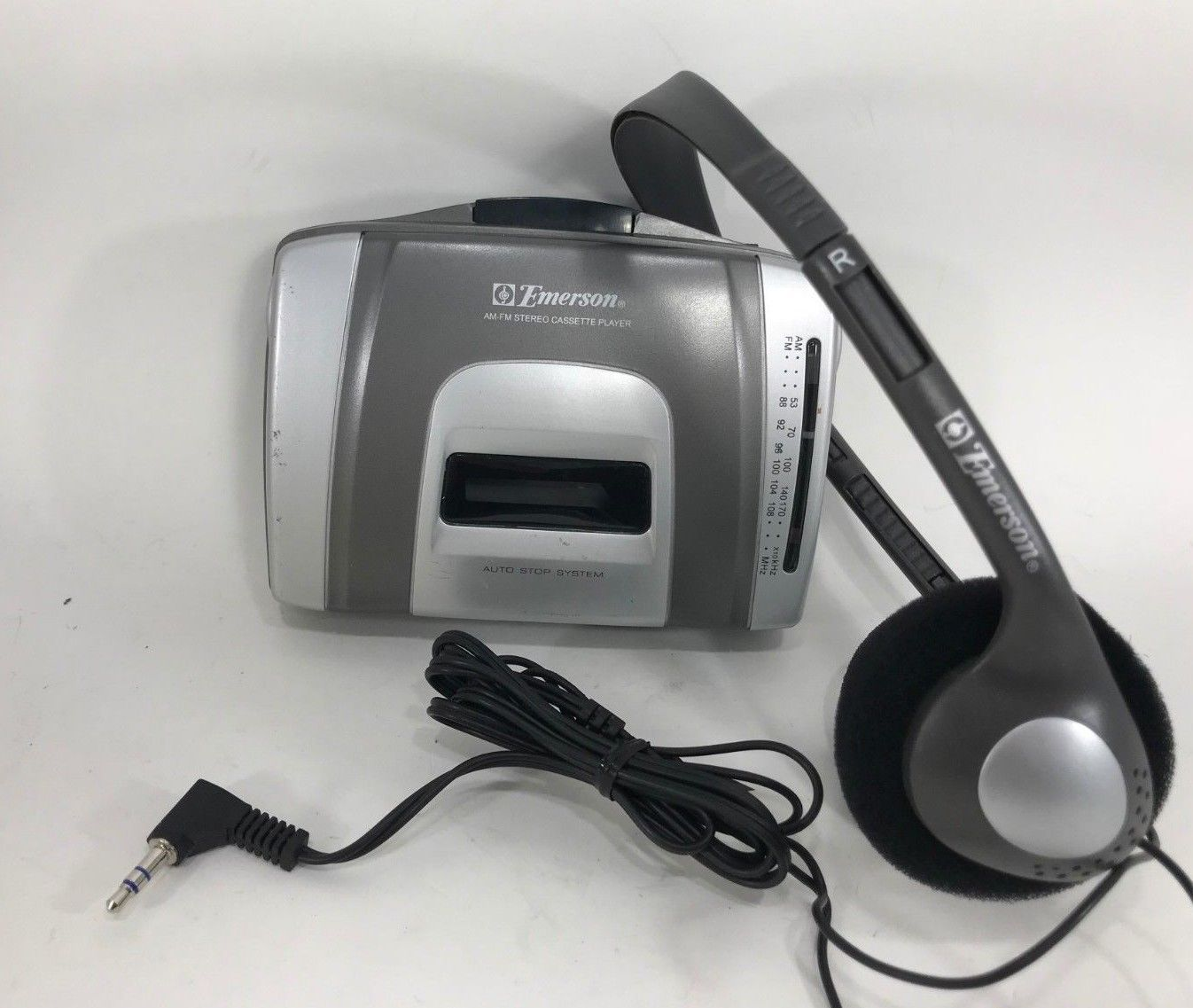 Emerson - EW96B - Portable Stereo Cassette Player AM-FM Radio - Walkman - $29.65