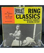 Ring Classics NO.1 JACK DEMPSEY VS. JESS WILLARD Greatest Moments Boxing - $75.00