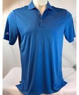 NEW Adidas Performance Polo Lucky Blue Large Golf Shirt Sz: M,L,XL - $28.61+