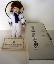 Prince William The Royal Wedding Doll by Danbury Mint image 3