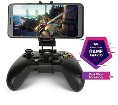 PowerA MOGA Mobile Gaming Clip/Xbox Wireless Controllers Foldable Adjust... - $16.97