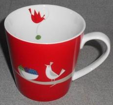 2011 Starbucks HOLIDAY/CHRISTMAS Bird w/Bowl or Ornaments 16 oz. HANDLED... - $22.76
