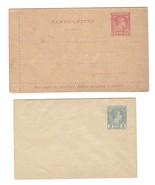 Monaco Postal Stationery Unused 5c Envelope 15c Lettercard - $9.95