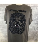 STAR WARS CHEWBACCA FACE Mens Brown T-SHIRT SIZE X-Large Tee Chewie Wookie - $14.54