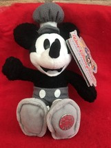 """Disney Parks """"2000"""" Millennium Steamboat Willie Mickey B EAN Ie With Tags - $29.00"""