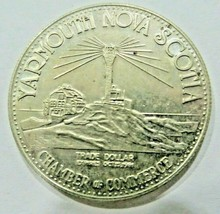 Plymouth Nova Scotia trade dollar incorporated 1890 chamber of commerce ... - $13.50