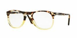 Neu Persol Brille PO9714VM 1024 50mm Ebano Rx Piloten Faltbar Brillen - $126.72