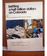 Advertisement Booklet, Molybdenum Mine in Colorado - $8.99