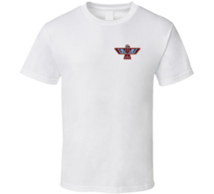 Native American Hawk Animal Totem Small Emblem T Shirt - $19.99+