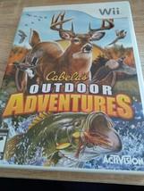 Nintendo Wii Cabela's Outdoor Adventures image 1