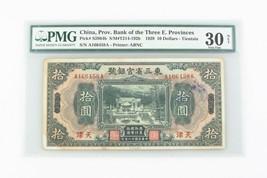 1929 Cina 10 Dollaro VF-30 Netto Provinciale Banca Tre Orientale Province P - $246.51