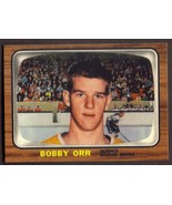 BOBBY ORR Rookie Card RP #35 Bruins RC 1966 OPC Free Shipping - $2.95
