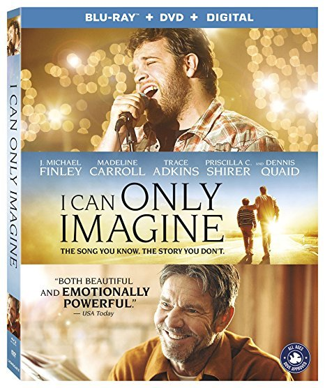 I Can Only Imagine [Blu-ray+DVD+Digital, 2018]