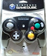 Nintendo Gamecube Controller Jet Black Great Condition Fast Shipping - $49.93