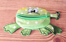 Coin Pouch,  Frog Pouch,  Paci Pouch,  Bags & Purses, Embroidered Coin P... - $15.00