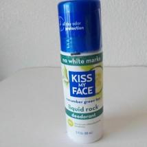 Kiss My Face Women Liquid Rock Deodorant 3 oz Cucumber Green Tea No Whit... - $16.83