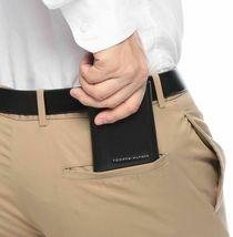 Tommy Hilfiger Men's Premium Leather Credit Card Id Wallet Trifold Black 5676-1 image 5