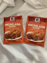 2x McCormick Enchilada Sauce Mix BBD 01/27/2021 1.5 oz each - $13.09