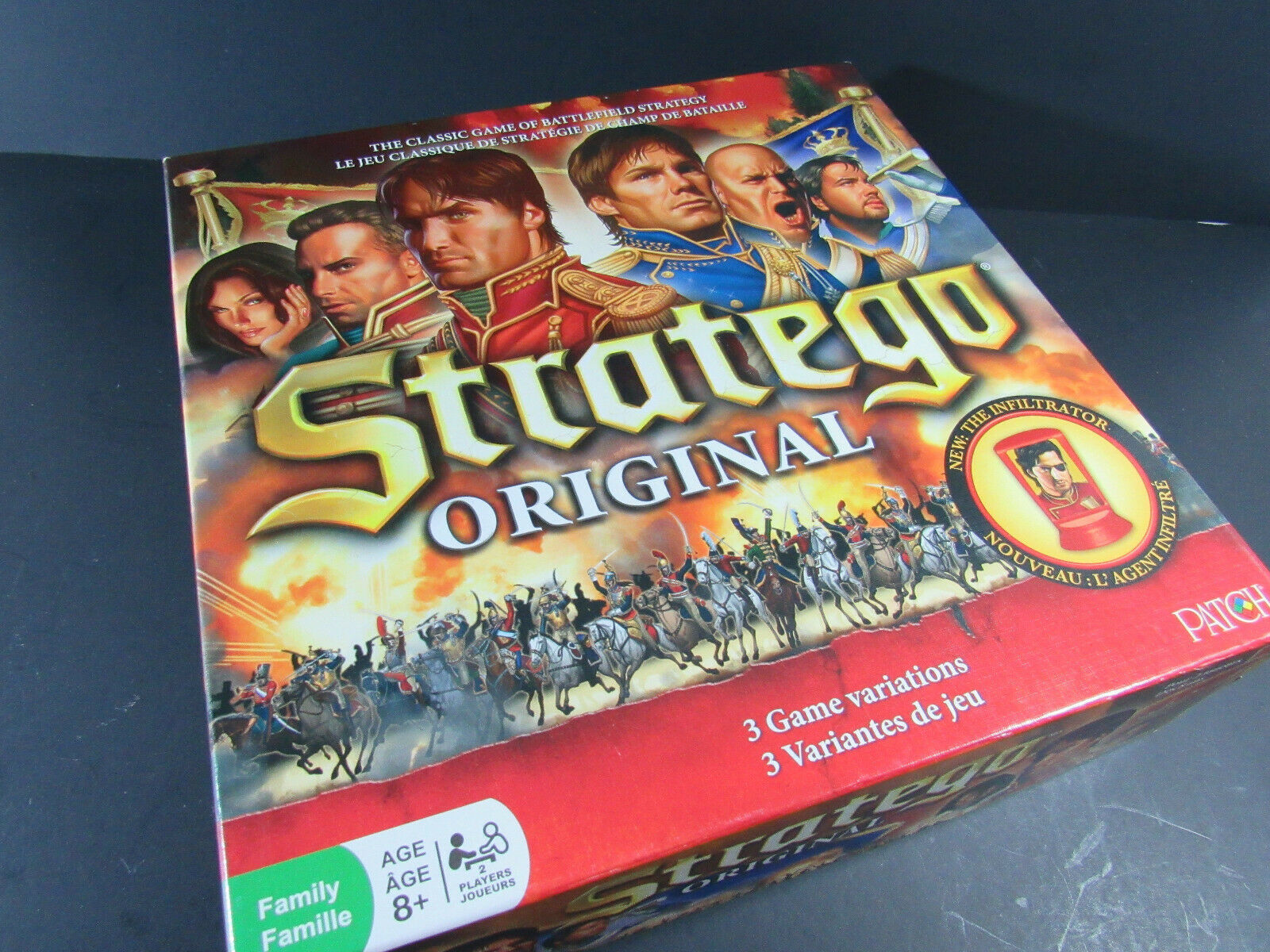 Primary image for Stratego Original Board Game Battlefield The Infiltrator