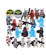 Star wars Mandalorian baby yoda Jedi storm troopers Boba Fett minifigures - $40.00