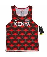 Nike Men's Team Kenya Slim Fit Aerowswift Running Tank Singlet CV0371-673 - $149.99