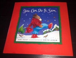 Kohl's Cares 2001 YOU CAN DO IT SAM Hardback Book by Amy Hest - $6.73