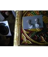 HAUNTED EARRINGS OF SIGHT AND COMMUNICATION I WHAT TO SEE AND HEAR SPIRITS - $79.00
