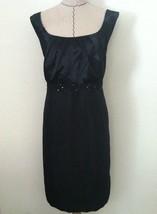 18W women dress black sleeveless evening cocktail sequin wiggle straight... - $35.53