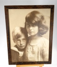 Antique Photograph Of Children Charles Albin New York 1920s - $90.00