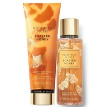 Victoria's Secret Toasted Honey Fragrance Lotion + Fragrance Mist Duo Set - $39.95