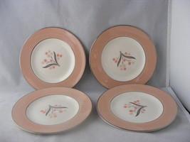 "4 Homer Laughlin Eggshell Cavalier Barclay 6.25"" Bread Plates - $19.95"