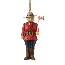 Canadian Mountie Hanging Ornament from Jim Shore Around the World Collection