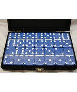 dominos blue jumbo size New Blue Dominoes Spinner 1/2 In Thick Free Ship... - $37.95