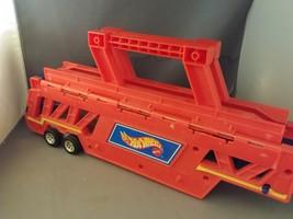 1995 Hot Wheels Cargo Carrier Car Holder Tractor Trailer (Tractor Trailer) - $12.50