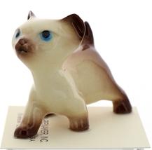 Hagen-Renaker Miniature Cat Figurine Siamese Large Kitten on Back and Walking image 6