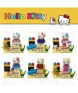 Hello Kitty Building Blocks 4 Sets Hello Kitty Miniature Figure Blocks, ... - $11.75