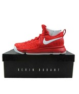 Nike Zoom KD 9 Kevin Durant Varsity Red Basketball Shoes 843392-611 Mens... - $119.95