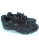 SKECHERS WOMEN'S 8 LEATHER HIKING TRAIL SHOES SN 46416 BROWN FREE SHIPPING! - $29.99
