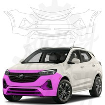 Paint Protection Film Clear PPF for Buick Encore GX ST 2020 Front Bumper - $168.25