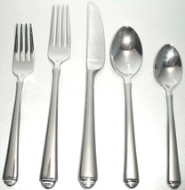 Gorham Crown Tip Stainless 5 Piece Place Setting 18/10 Flatware New In Box - $39.90