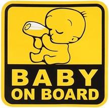 BABY ON BOARD Graphic Sticker Decal 1 Sticker 12.5 x 12.5 cm. - $6.81