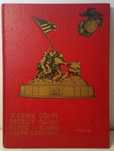 1975 Marine Corps Recruit Depot Parris Island South Carolina Platoon 183 Book #2