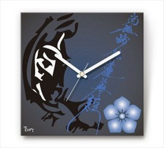 Sengoku Design Fabric Wall clock Interior Kiyosa Kato - $99.99