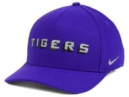 LSU Tigers NCAA Nike Local Dri-Fit Swoosh Flex Fitted Hat - $15.79