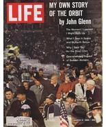 ORIGINAL Vintage March 9 1962 Life Magazine John Glenn - $27.86