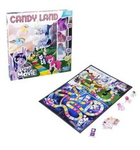 Candy Land Game My Little Pony the Movie Edition With 3 Toy Figures Girls - $21.49