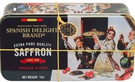 SPANISH DELIGHT BRAND Pure Grade Mancha Saffron Threads  1OZ Limited Qua... - $51.43