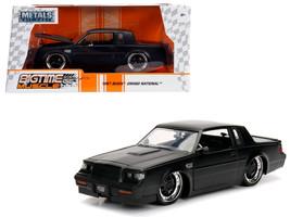 1987 Buick Grand National Matte Black 1/24 Diecast Model Car by Jada - $34.30