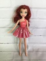 Jakks Pacific Disney Fairies Rosetta Garden Fairy Doll With Pink Tutu Sk... - $15.83